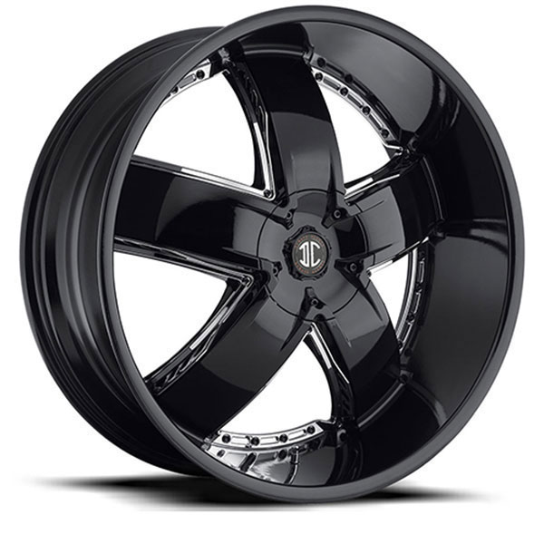 2 Crave No.18 Gloss Black with Chrome Inserts