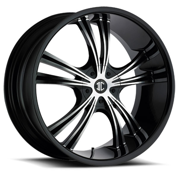 2 Crave No.2 Gloss Black with Machined Face and Gloss Black Lip