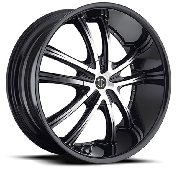 2 Crave No.21 Gloss Black with Machined Face and Gloss Black Lip
