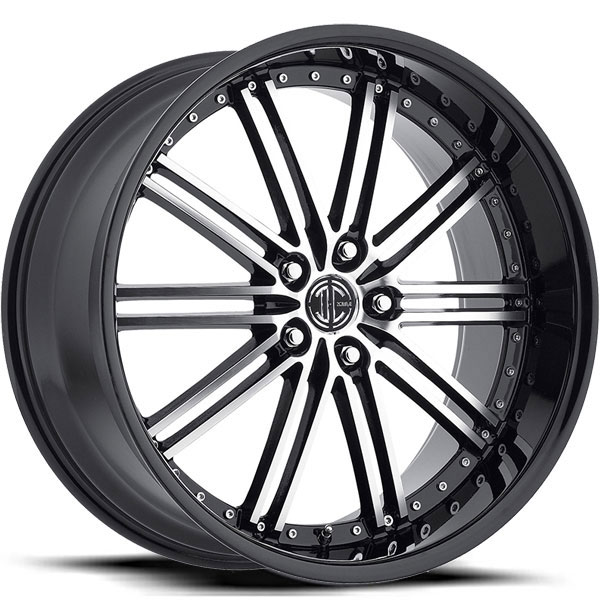 2 Crave No.33 Gloss Black with Machined Face