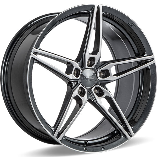 Ace Alloy AFF01 V001 Gloss Mica Gray with Brush Face