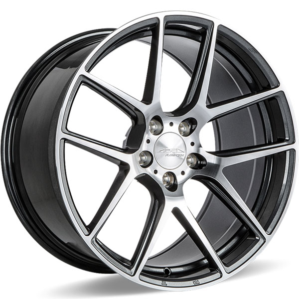 Ace Alloy AFF02 V002 Mica Grey with Machined Face