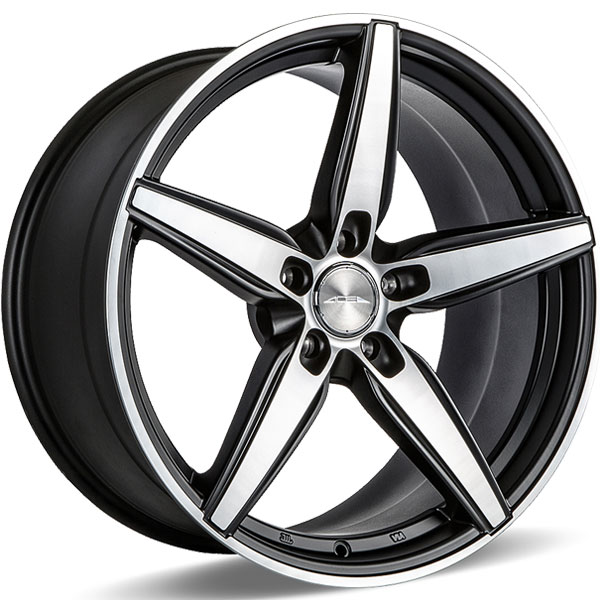 Ace Alloy Couture C903 Matte Black with Machined Face