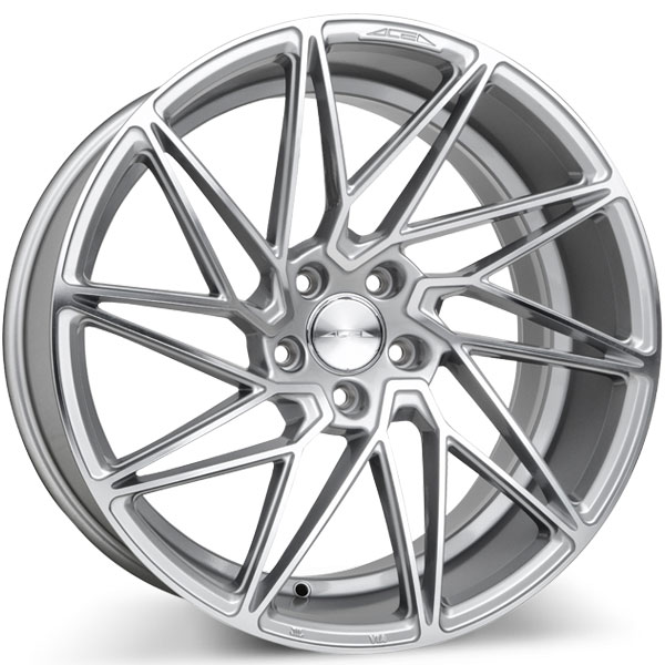 Ace Alloy Driven D716 Silver with Machined Face