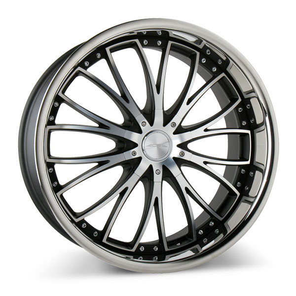 Ace Alloy Eminence D709 Eminence Matte Black with Machined Face and SS Lip
