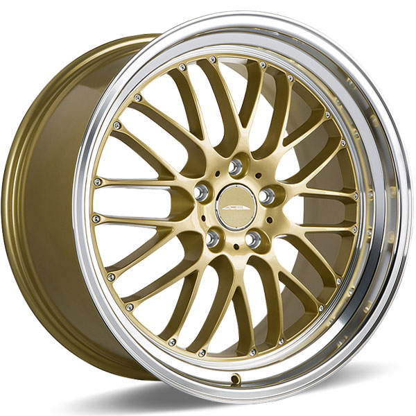 Ace Alloy SL-M D715 Gloss Gold with Diamond Lip