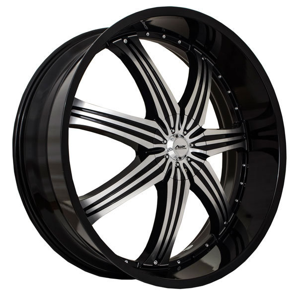 Alloy Technologies AT412 Black with Machined Face