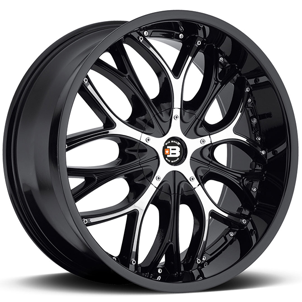Big Bang BB4 Gloss Black with Chrome Inserts