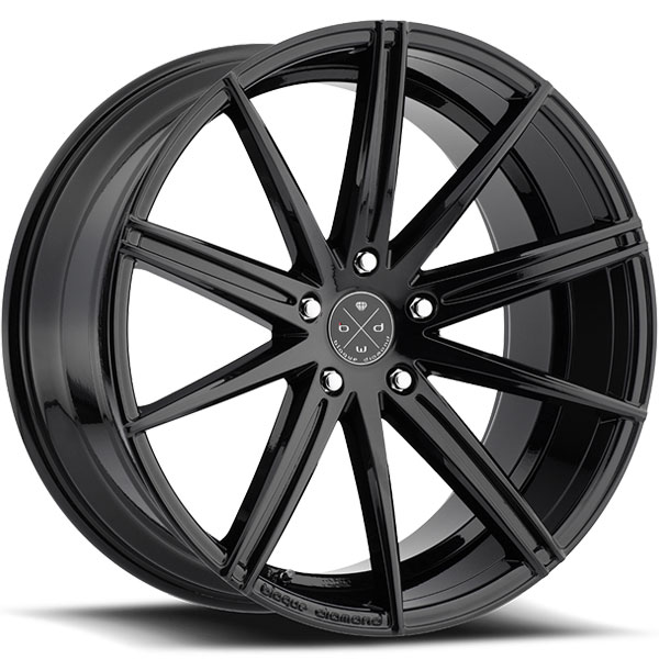Blaque Diamond BD-9 Gloss Black