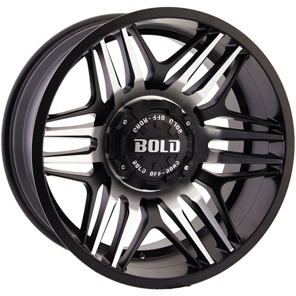 Bold BD003 Gloss Black Milled