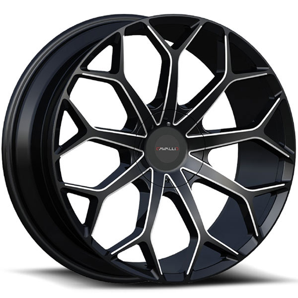 Cavallo CLV-22 Gloss Black Milled