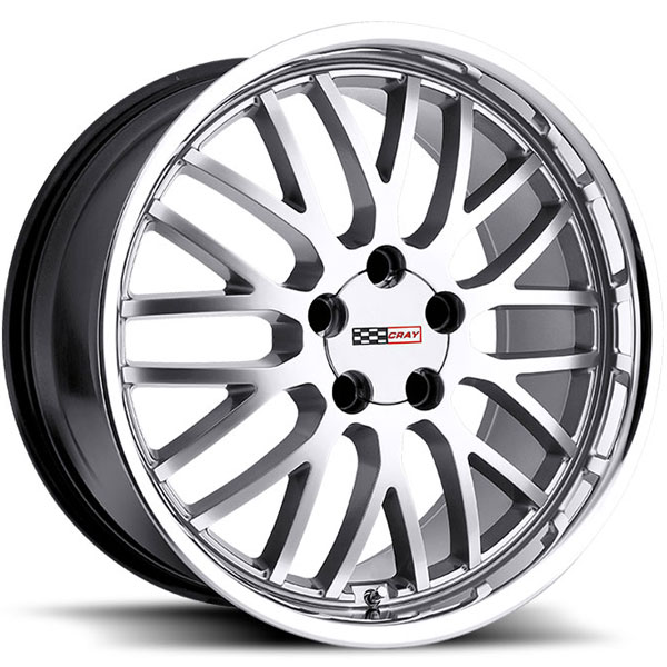 Cray Manta Hyper Silver with Polished Lip