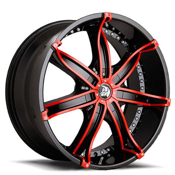 Diablo DNA Black with Red Inserts