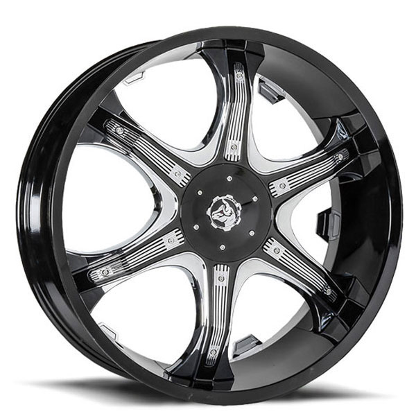 Diablo Grill Black with Chrome Inserts