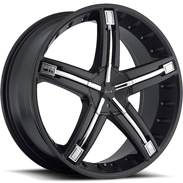Dolce DC30 Black with Chrome Inserts
