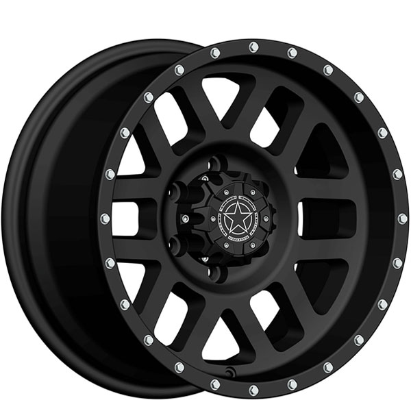 DWG Offroad DW11 Matte Black with Silver Bolts