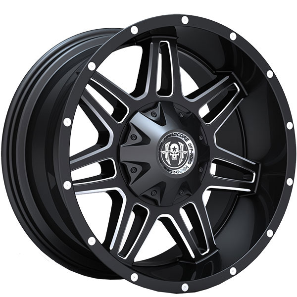Hardcore Off-Road HC03 The Beast Gloss Black with Milled