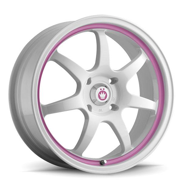 Konig Forward White with Pink Stripe