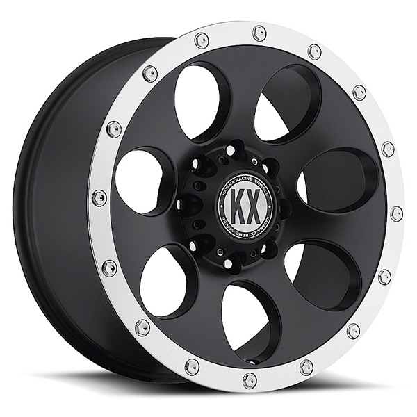 KX CP41 Matte Black with Machined Lip