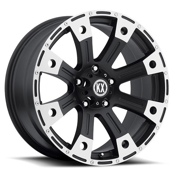 KX CP77 Matte Black Machined