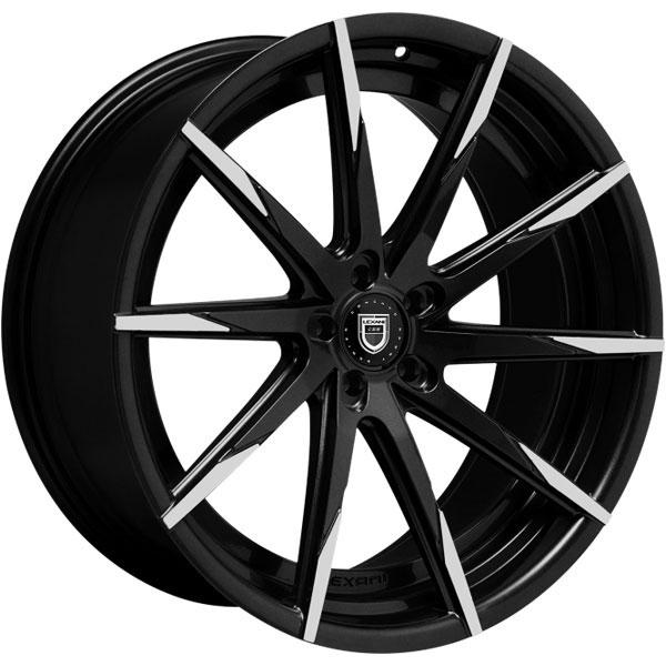 Lexani CSS-15 Gloss Black with Machined Tips
