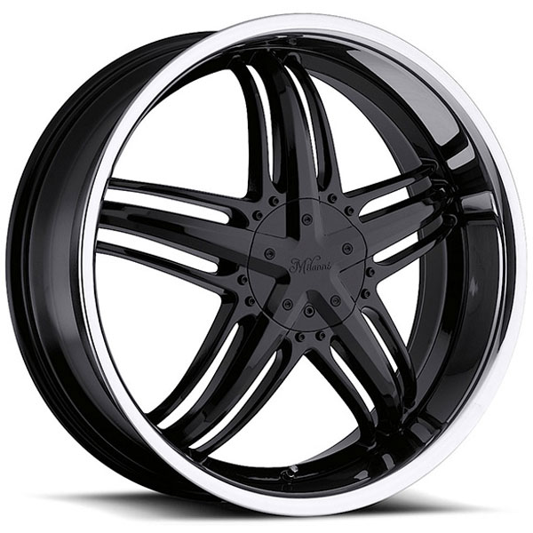 Milanni Force 457 Black with Machined Face and Lip