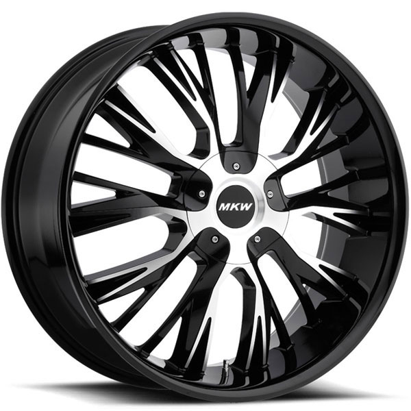 MKW M122 Black Machined