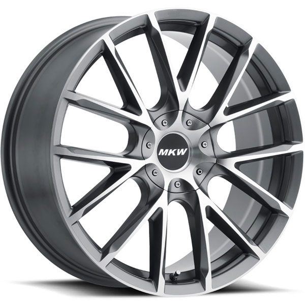 MKW M123 Gloss Grey with Machined Face