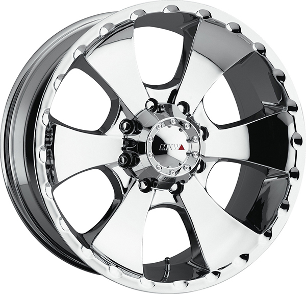 MKW M19 Chrome 8 Lug