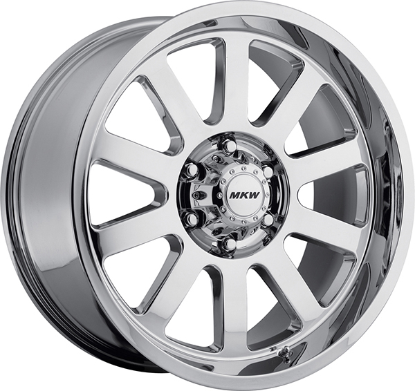 MKW M86 Chrome 8 Lug