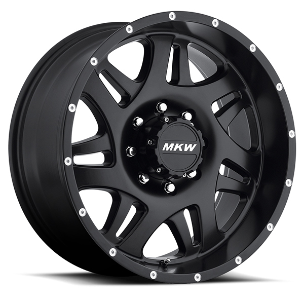 MKW M91 Satin Black 8 Lug