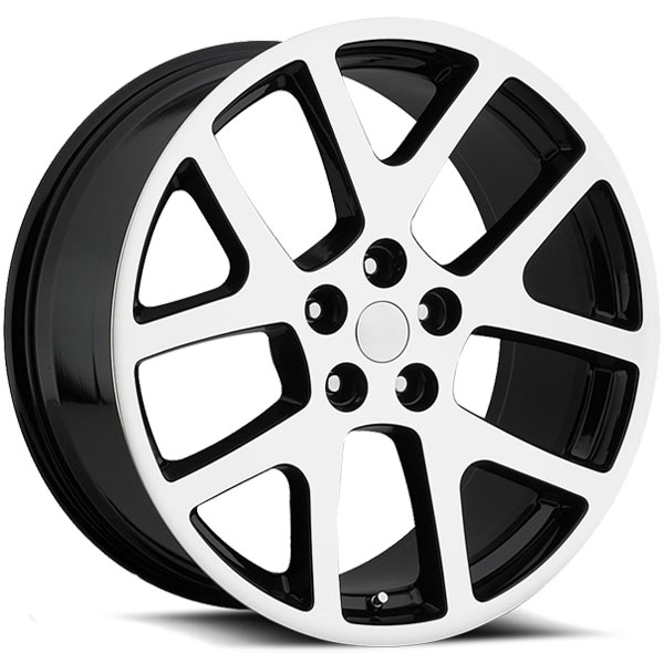 OE Revolution 107 Gloss Black with Machined Face
