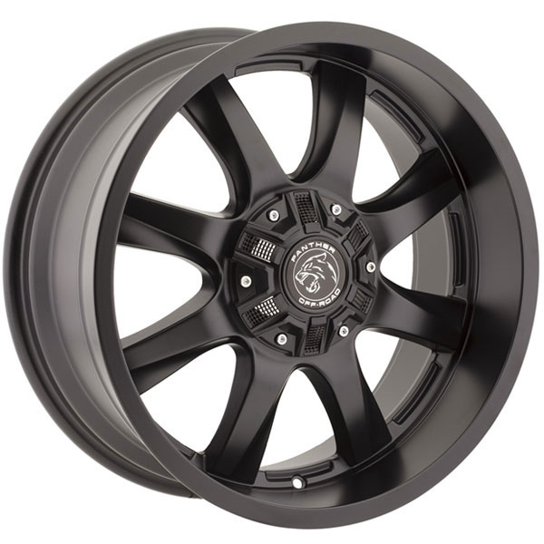 Panther Off-Road 578 Flat Black