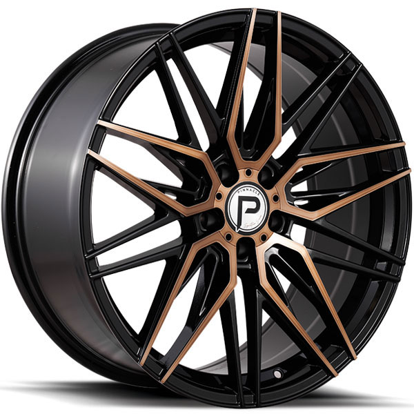 Pinnacle P210 Majestic Gloss Black with Bronze Tinted Machined Face