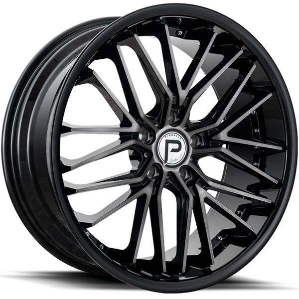Pinnacle P214 Legacy Gunmetal with Gloss Black Lip