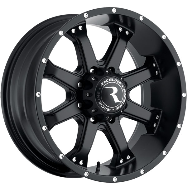 Raceline 991B Assault Satin Black