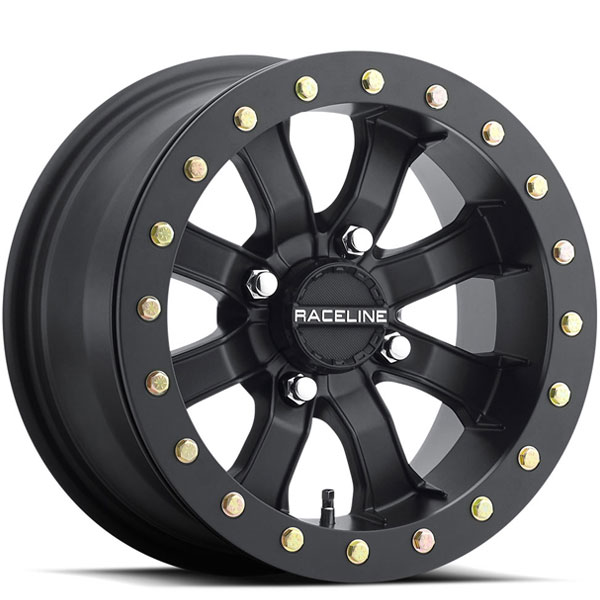 Raceline A71 Mamba UTV Beadlock Black Machined