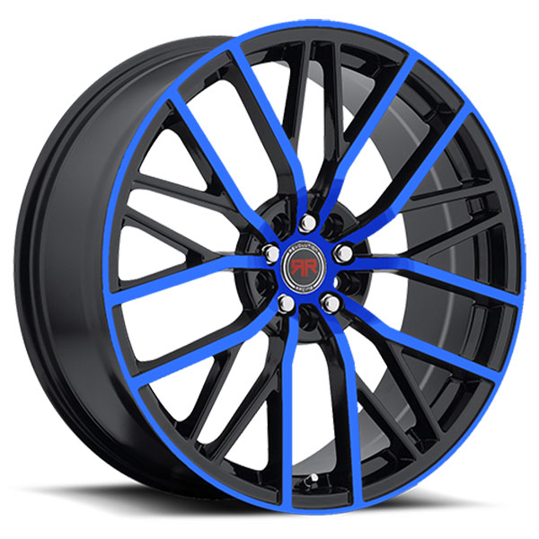 Revolution Racing R7 Black with Blue Face