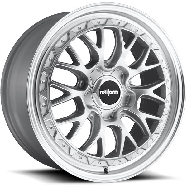 Rotiform LSR Silver with Machined Face