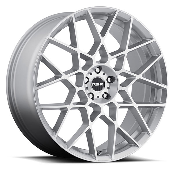 RSR R704 Silver with Machined Face