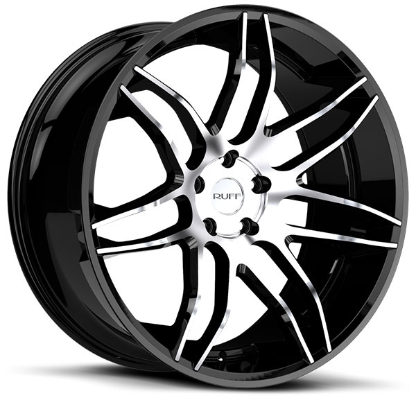Ruff Racing R960 Gloss Black with Machined Face