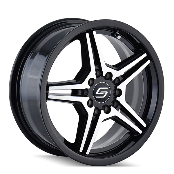 Sacchi S73 Black with Machined Face