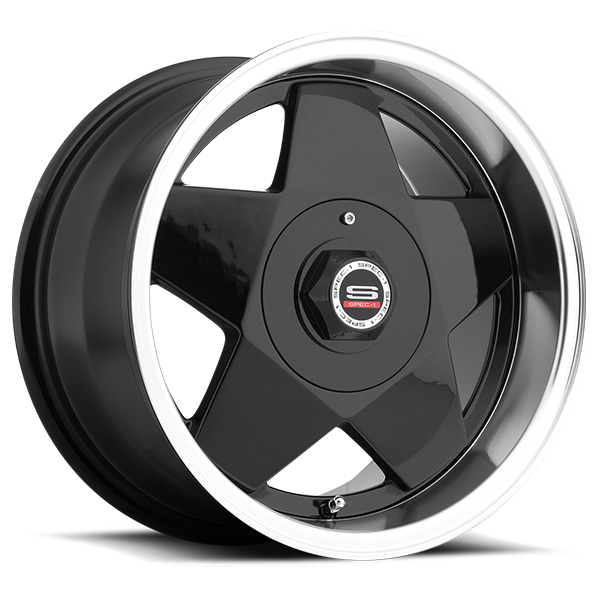 Spec-1 SPT-7 Gloss Black with Chrome Lip