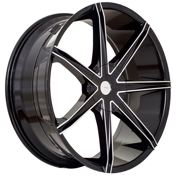 Structure SA768 Black with Machined Face