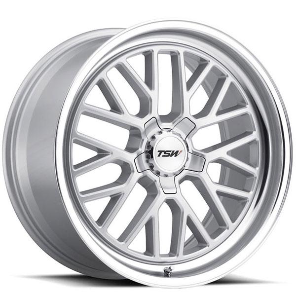 TSW Hockenheim S Silver with Mirror Cut Lip