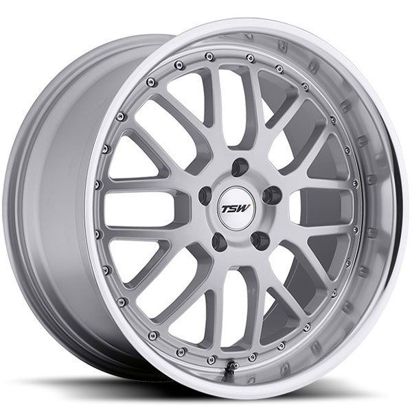 TSW Valencia Silver with Mirror Cut Lip