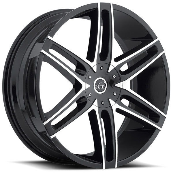 VCT V8 Black with Machined Face
