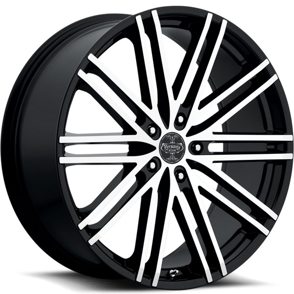 Versante 227 Black with Machined Face 5 Lug