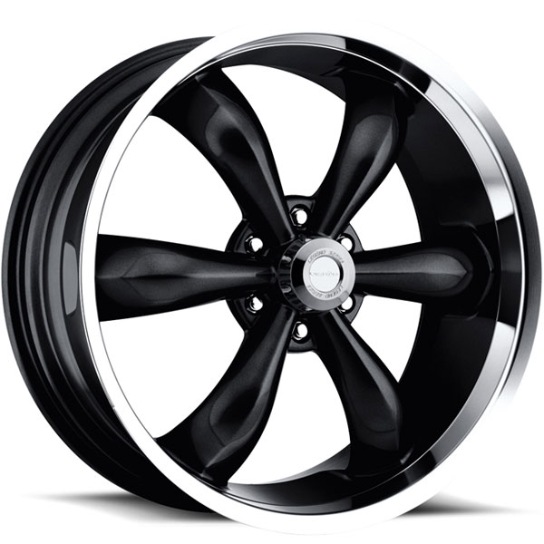 Vision 142 Legend 6 Gloss Black with Machined Lip