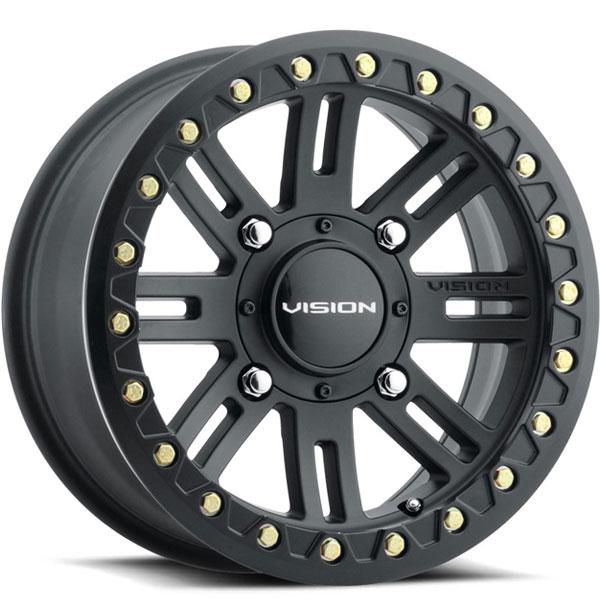 Vision 356BL Manx 2 Beadlock Satin Black